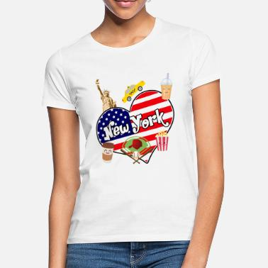 I Love New York I love New York 2 - T-shirt Femme