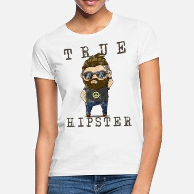 Used Hipster Used Look - T-shirt dam