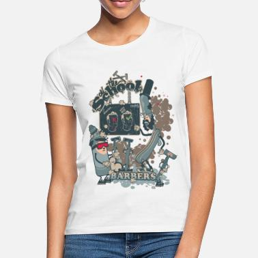 Funny Collection barbers shop - T-shirt Femme