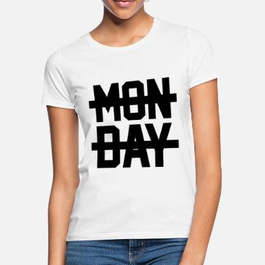 Back To School Monday - Women's T-Shirt