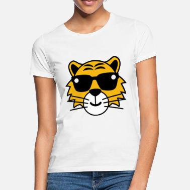 Pictures Tiger sunglasses summer funny pictures - Women's T-Shirt