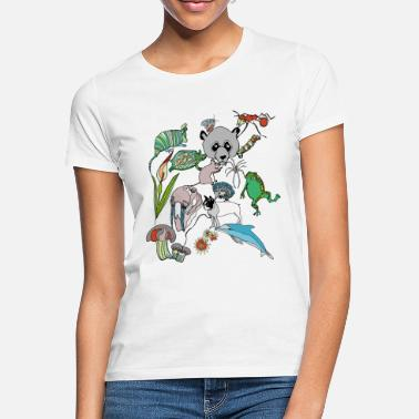 Nature Conservation Net of Nature - Women's T-Shirt