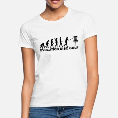 Disc Disc golf - Frauen T-Shirt
