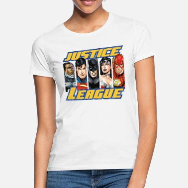 DC Comics Justice League Group Picture - Vrouwen T-shirt
