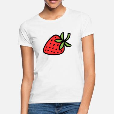 Orchard Strawberry Fruit Summer Healthy Fruit Orchard - Women's T-Shirt