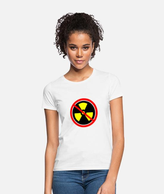 Chernobyl T-Shirts - Anti nuclear power Nuclear power stations Nuclear energy Atomic energy - Women's T-Shirt white