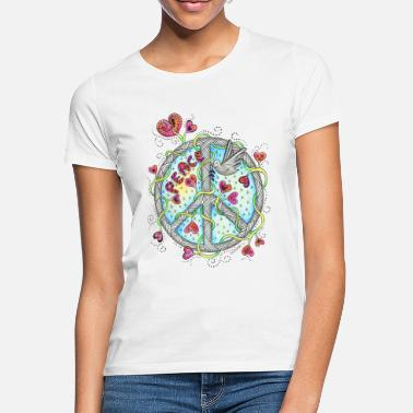Peace Peace - Frauen T-Shirt