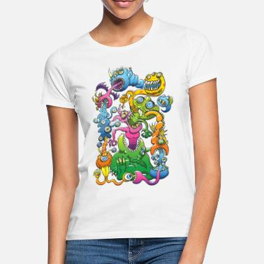 Monstrueusement Messy - T-shirt Femme