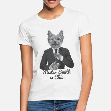 Smith Meneer Smith is Chic - Vrouwen T-shirt