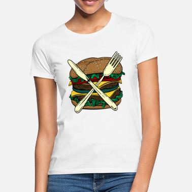 Burger X - Women's T-Shirt