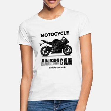 Motocycle American Motocycle ChampionsShip (black) - Women's T-Shirt