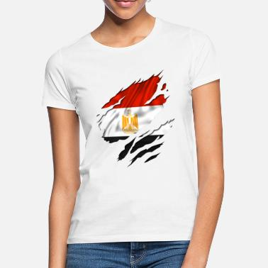 Designs Guinea Visit Wear Logo Nation With African egypt egyptian egyption - Women's T-Shirt