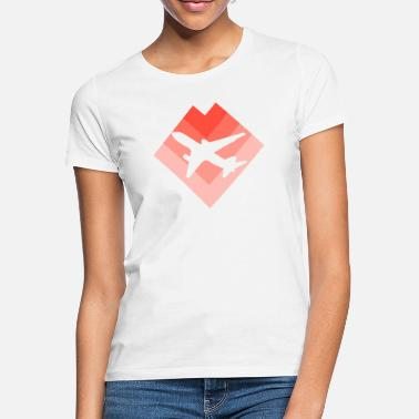 Luchthaven luchthaven - Vrouwen T-shirt
