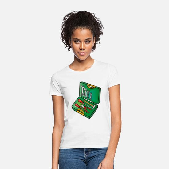Patch T-Shirts - g0196223 toolbox - Women's T-Shirt white