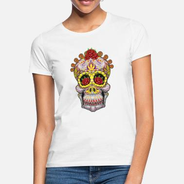Day Of The Dead Sugar Skull Day Of The Dead Halloween - Women's T-Shirt