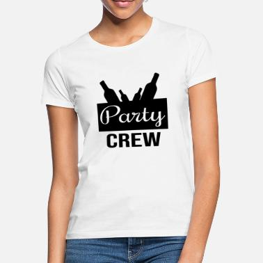Party Party crew, mannen vrouwen - Vrouwen T-shirt