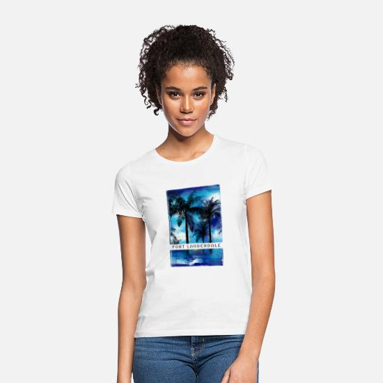 Birthday T-Shirts - Cool beach inspired merchandise and apparel for - Women's T-Shirt white