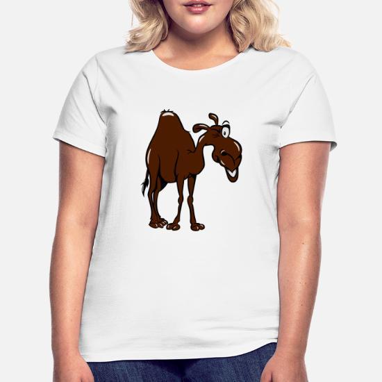 kamel T skjorte for kvinner | Spreadshirt