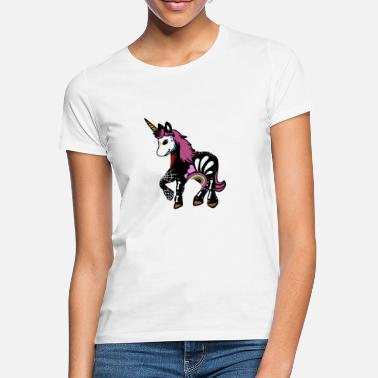 Day Of The Dead Unicorn Sugar Skull Day of the Dead - T-shirt dame