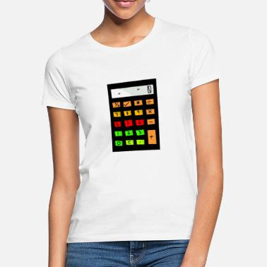 Calculator calculator - Women's T-Shirt
