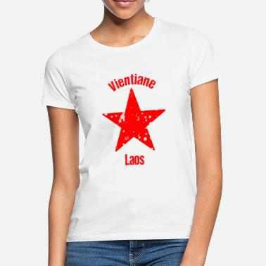 Thailand Vientiane Laos Backpacker Rejser - T-shirt dame