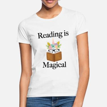 Reading Reading is Magical - Women's T-Shirt