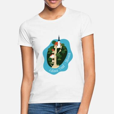 Juliana Juliana Trail - Slovenien - T-shirt dame