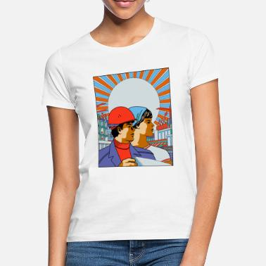 Soviet Russian workers - Women's T-Shirt