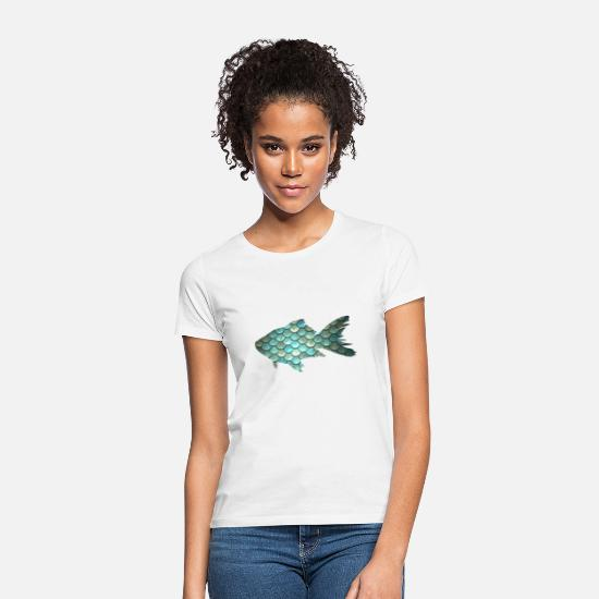 Fish T-Shirts - fish - Women's T-Shirt white
