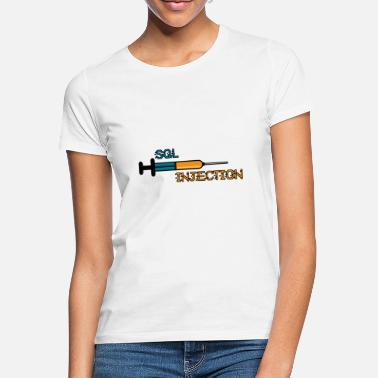 Injection Injection SQL - T-shirt Femme