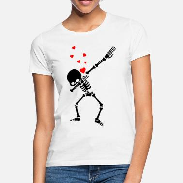 Romantic Skeleton that Dab / Love / Amour - Women's T-Shirt