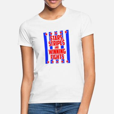 Stars And Stripes Stars and Stripes - Women's T-Shirt