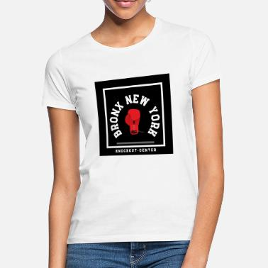 Bronx New York Knockout Center Design - T-shirt dame
