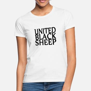 United Black Sheep - Naisten t-paita