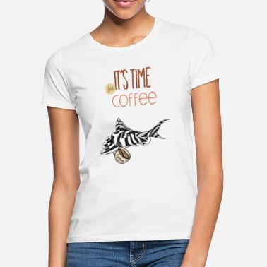 Zebrawels L46 L-Wels It's coffee time - Frauen T-Shirt