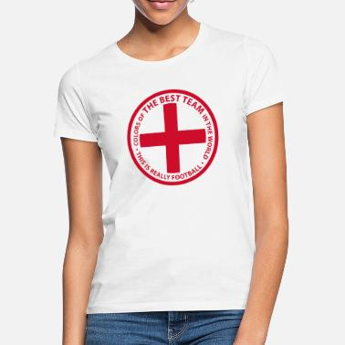 England Colors of the best team in the world - Women's T-Shirt