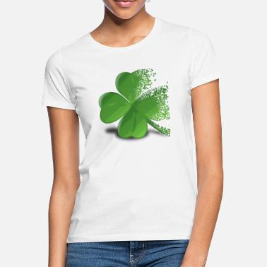 Three Leafed Clover cloverleaf - Women's T-Shirt
