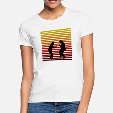 Pulp Mia and Vincent color - Women's T-Shirt