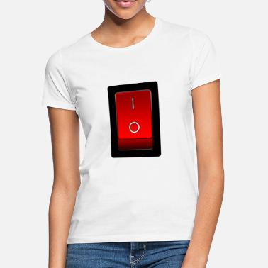 Switch Off on off switch, on off switch - Women's T-Shirt