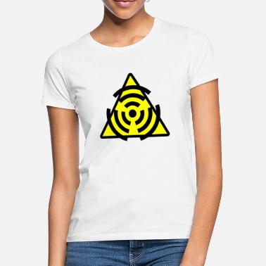 Atomic Atomic Atom radioaktiv WLAN LAN Wireless lan - Frauen T-Shirt