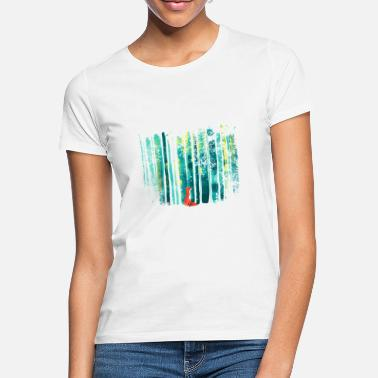 Fchs in the forest - Women's T-Shirt
