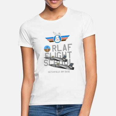 RLAF Flight School - Frauen T-Shirt