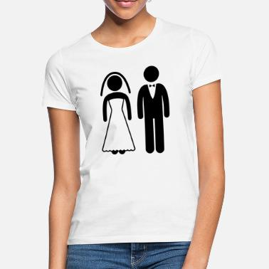 Bride And Groom Bride and Groom - Women's T-Shirt