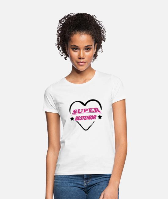 Super bestemor T skjorte for kvinner   Spreadshirt