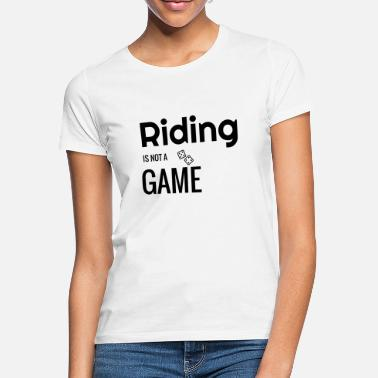 Equitation Riding Horse Rider Equestrianism Equitation - Women's T-Shirt