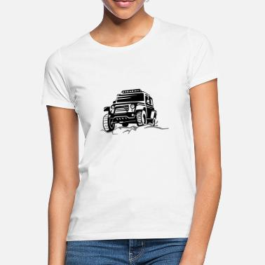 Dare Jeep off-road vehicle 4x4 - Women's T-Shirt