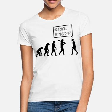 Quote evolution - Women's T-Shirt