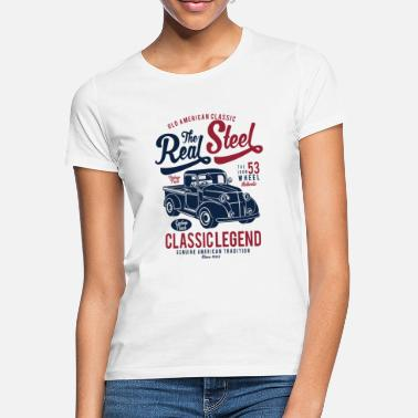Steelers Le Real Steel - T-shirt Femme