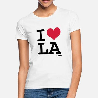 Love I love LA los angeles by wam - T-shirt Femme