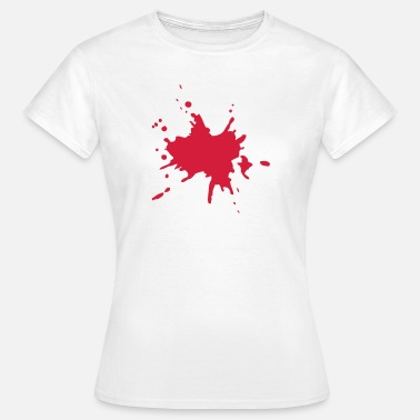 Blood Stained Blood blood stain - Women's T-Shirt